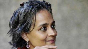 Arundhati Roy...support for Maoist guerillas.