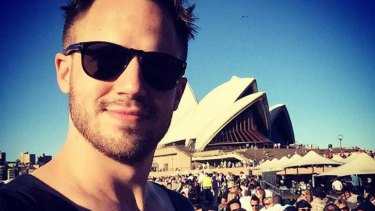 Julien Blanc in Sydney, earlier this week.