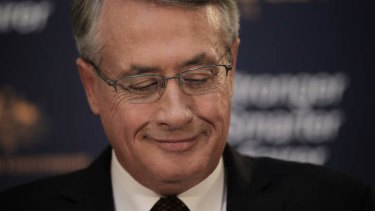 "Treasurer Wayne Swan: ""Strange budget."""