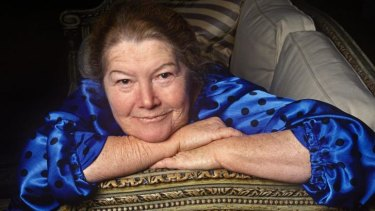 Australian writer Colleen McCullough in 1997.