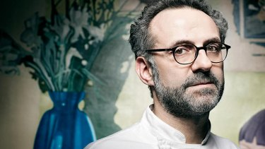 'I think Australia, Peru and Brazil are the future of food at the moment,' says Bottura.