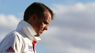 """""""I reckon you'll see more topspin from him this game"""": Ashley Mallett on Graeme Swann."""