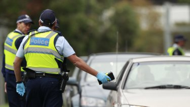 An off-duty policewoman was found to have a blood alcohol reading of 0.177.