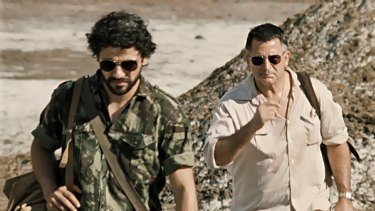 Oscar Isaac plays Jos Ramos-Horta and Anthony LaPaglia plays Roger East in the Australian drama, Balibo.