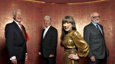 The Seekers: L-R Keith Potger, Bruce Woodley, Judith Durham and Athol Guy.