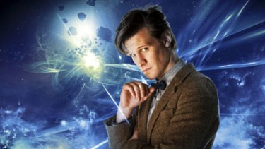 Matt Smith ... as Doctor Who he uses sonic tools to do many tasks.