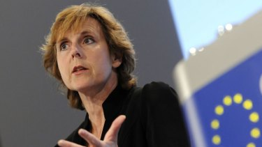 European Union Commissioner for Climate Change, Connie Hedegaard.