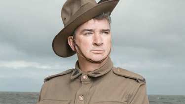 Damian Callinan in The Lost Diary of WW1 Private Paddy Callinan.