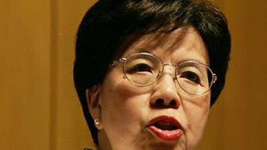World Health Organisation Director General Margaret Chan.