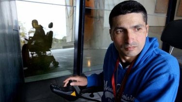 MS sufferer Michael Dalli struggles to afford the internet due to his disability.