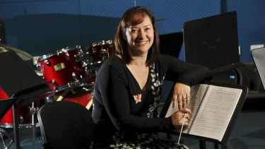 Dr. Anita Collins, Assistant Professor of Music and Arts Education, at the University of Canberra.