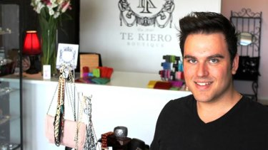 Boutique owner Kiro Nic developed a website and changed his pricing after realising he was losing many potential customers to the internet.