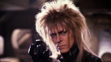 David Bowie in <i>Labyrinth</i>.
