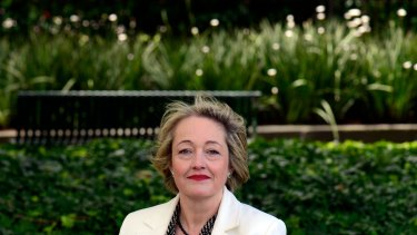 Louise Staley, the new State Liberal member for Ripon, at Parliament House.