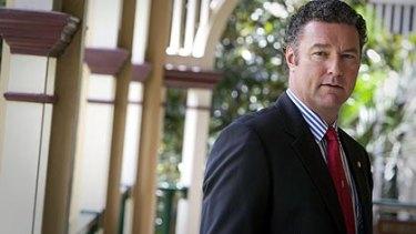 State Opposition Leader John-Paul Langbroek.