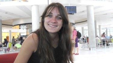Slain student Sophie Collombet.