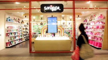 Heading overseas: Smiggle stores are set to open in the UK.