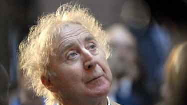 In this April 9, 2008 file photo, actor Gene Wilder listens as he is introduced to receive the Governor's Awards for Excellence in Culture and Tourism at the Legislative Office Building in Hartford, Connecticut.