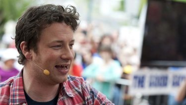 Chef Curtis Stone says Jamie Oliver needs to practise what he preaches.