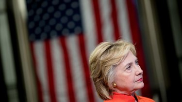 Democratic presidential candidate Hillary Clinton joined the outcry over rival Donald Trump's latest remarks.