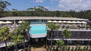 Bannisters Pavilion, Mollymook, will find many markets - the hip young crowd on the weekends, retirees during the week, couples looking for a chic escape at any time.