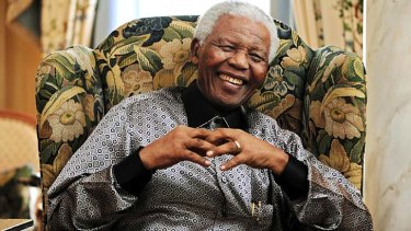'Responding better': South African President Jacob Zuma had some good news on the condition of Nelson Mandela.