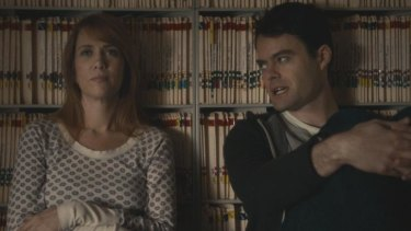 Isolated: Kristen Wiig and Bill Hader's acting in <i>The Skeleton Twins</i> is not supported by the script.