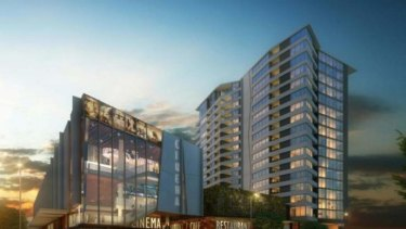 Conceptual images for the Coorparoo redevelopment.