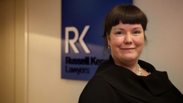 Found her niche: Kate Bartlett swapped from physics to law studies at Victoria University and went on to win an award for academic excellence. She is now a commercial lawyer.