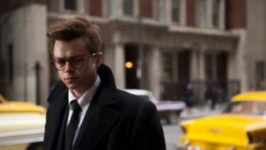 Dane DeHaan as James Dean in the film <i>Life</i>.