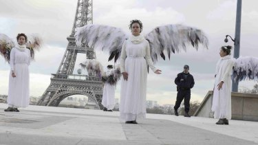 The carnival atmosphere of street acts and political activists that has accompanied previous global climate summits is threatened by the current state of emergency in Paris.
