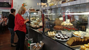Fresh philosophy … at Jammy Cow the emphasis is on home-made food.