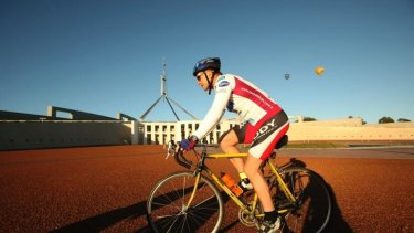 The Prime Minister's well-known love of cycling has captured the attention of Russia's Australian embassy.