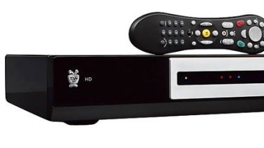 TiVo: the box is bigger and heavier than iQ2.