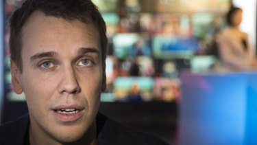 Apology: Dozhd TV editor-in-chief Mikhail Zygar.