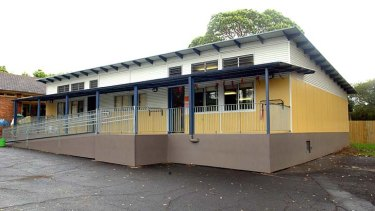 Education kit … today's demountables have a more permanent air, such as this one at Fairfield Heights Public School.