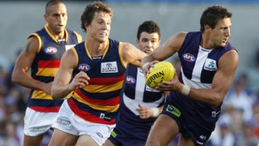 Matthew Pavlich shows his form against the Crows.
