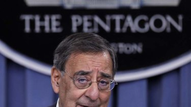 U.S. Secretary of Defense Leon Panetta.