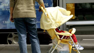Price of convenience ... walking is crucial to toddlers' physical development.