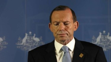 Prime Minister Tony Abbott: 'Prepared to do anything to get hold of power?'