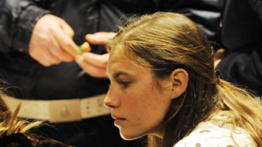 Amanda Knox ...  appealing against murder conviction.