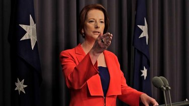 """""""Indeed, every union has what it refers to as a re-election fund, slush fund, whatever, which is the fund that the leadership team ... puts money so that they can finance their next election campaign"""" ... Prime Minister Julia Gillard."""