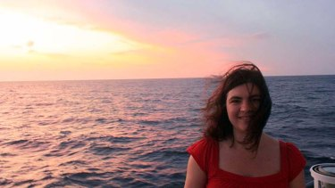 ''Undiscovery'': University of Sydney researcher Maria Seton on board the ship last October.