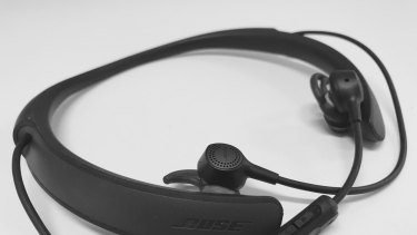 Safe to fall asleep with: Bose Quiet Control 30 earbuds.