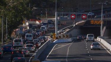 The Lane Cove Tunnel had an estimated loss of $1 billion.