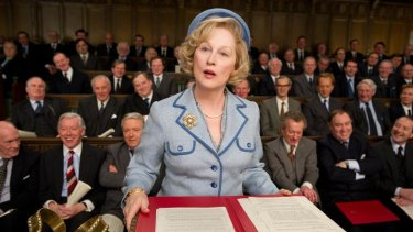 Meryl Streep is convincing in her role as Margaret Thatcher in <i>The Iron Lady</i>.