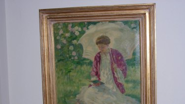 Rupert Bunny's Girl in Sunlight was reported stolen from a private collection in 1991.