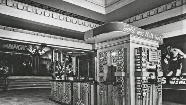 When completed, the Capitol Theatre was hailed as one of the most avant-garde designed theatres in the world.