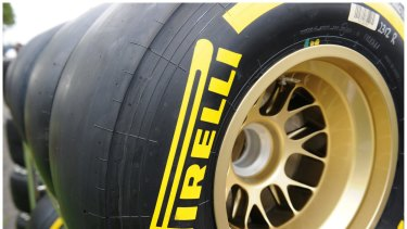 Drivers will have four types of tyres to choose from.