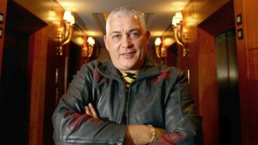 Bestselling author ... Mick Gatto.
